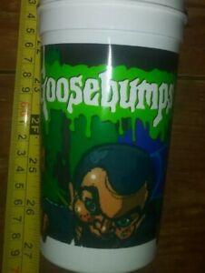 1 old stock plastic Goosebumps cup Scholastic Pizza Hut Slappy kids size