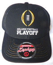 OHIO ST. BUCKEYES BLACK COLLEGE FOOTBALL PLAYOFF CFP CHAMP STRAP CAP HAT  NWT! c60317c89ec8