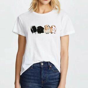 Guinea Pig T-shirt White