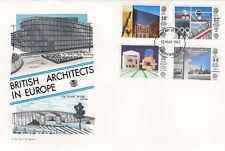 (04903) GB Stuart FDC British Architects in Europe Dartford 12 May 1987