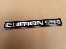 "Emblem Schriftzug ""EDITION 1.6i"" Kadett E Cabrio OPEL"