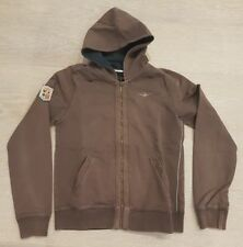 AERONAUTICA MILITARE felpa donna women brown hoodie sweatshirt size M