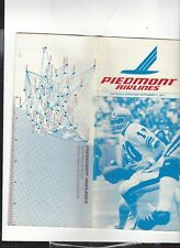 Piedmont  Airlines  September 7    1977  timetable