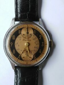 Vintage Breitling Two Tone Dial Mechanical Men's Watch