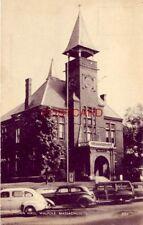 TOWN HALL, WALPOLE, MASSACHUSETTS circa 1945