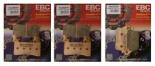 Kawasaki ZX6R ZX636 Edf-Ejf 2013-2018 Set EBC Hh Pastillas de Freno Traseras y
