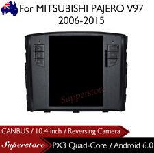 "10.4"" Tesla Style Android 6.0 Car Player Navi GPS For MITSUBISHI PAJERO V97"