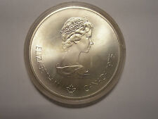 $10 Canadian Olympic Silver Coin (BU/Proof) ASW 1.4454