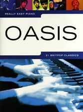 OASIS Learn Really Easy Piano 21 POP Songs Music Book