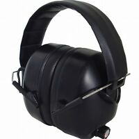 Radians 430 EHP Electronic hearing protection ear muffs shooting black NRR 26