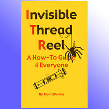 Invisible Thread Reel Floating Flying Effects Close Up Magic Trick Book