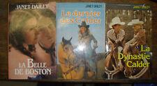 Lot de 3 livres de Janet Dailey éditions France Loisirs