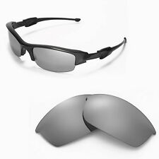 New Walleva Polarized Titanium Lenses For Oakley Flak Jacket