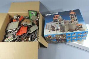 H 80097 Playmobil Burg und einige Häuser