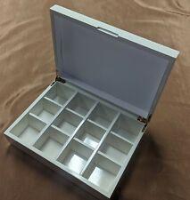 Wooden Tea Bag Chest (12 compartments)