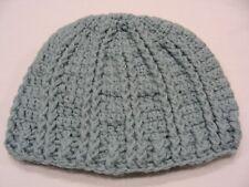 poudre bleu - fait à la main - Acrylique - Taille Unique BAS casquette bonnet