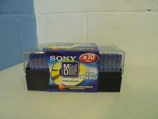 Sony Premium 74 minute Mini Discs - 20 Packs NEW & SEALD