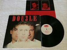 DOUBLE DOU3LE RARE 1987 POLYDOR WHITE LABEL AUSTRALIA PRESS LP