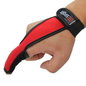 Non-Slip Fishing Single Finger Gloves Unisex For Fishermen Elastic Band AA