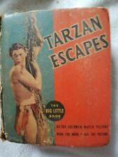 Tarzan Escapes- #1182 Big Little Book- Free S&H!!