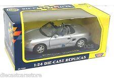 Motor Max Porsche Boxter Silver 1/24 Diecast Car 73226SIL