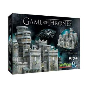 Game of Thrones - Winterfell 3D Jigsaw Puzzle, 910 Piece - Wrebbit Free Shipping
