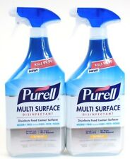 2 Purell Multi Surface Disinfectant Food Contact Surfaces Citrus No Rinse 28 oz