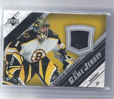 05-06 2005-06 UPPER DECK ANDREW RAYCROFT UD GAME JERSEY J2-AR BOSTON BRUINS