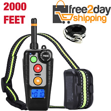 Dog Training Shock E Collar Waterproof Remote Pet Electric Trainer Rechargeable
