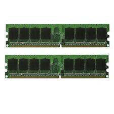 NEW! 2GB (2X1GB) MEMORY 128X64 PC2-5300 667MHZ 1.8V NON ECC DDR2 240 PIN DIMM