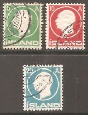 Cats Used Icelandic Stamps