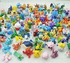 Pokemon Lot Of 48 Miniature PVC Figures 1-1.5 Inches Random Set US Seller