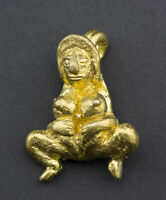 Amuleto Tailandese Khmer Ragazzo Mae Sanae Gold Erotico Lingam Genere Amour 1515