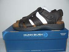 NIB Mens Nunn Bush Ritter Dual Comfort Brown Sandals Size 9,10,11,12,13