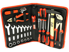 Werkzeugkoffer Werkzeug Kasten Kiste Box Koffer Tasche Hammer Schlüssel 18-tlg.
