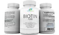 Biotin 10 000 Mcg for Healthy Hair Skin Nails and Maximum Growth Softgels Pills