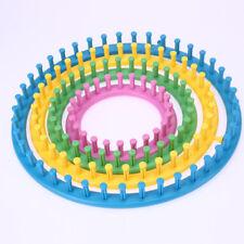 Knitting Flower Loom Maker Needle Pattern Yarn Wool Craft Daisy 6pcs Tool Set