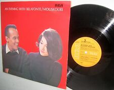 An Evening With Belafonte / Mouskouri HARRY BELAFONTE NANA MOUSKOURI German LP