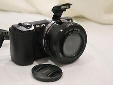 Sony Alpha a5000 20.1MP Digital Camera - Black with body case. SLIGHTLY USED