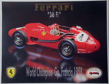 Ferrari 246 f1 France 1958-Revival 1:20 kit Metal kit DIECAST-NEW