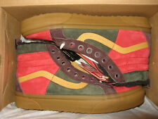Vans Sk8-Hi 46 MTE DX Mens Suede All-Weather Shoes Poinsettia Forest Night