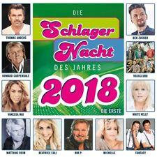 DIE SCHLAGERNACHT DES JAHRES 2018 (VANESSA MAI, THOMAS ANDERS,...) CD NEU