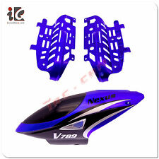 Head Cover/Canopy/Body Frame for VIEFLY V789 RC Helicopter Spare Parts