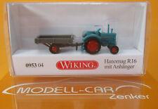 Wiking 095304 Hanomag R 16 mit Anhänger Scale 1 160
