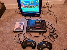 Sega mega drive 16 bit console model HAA-2510 WORKING RARE Import +Sonic 1