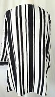 NEXT Blouse Shirt Top Stripes Pattern Business Blogger Smart Casual UK 18 (46 )