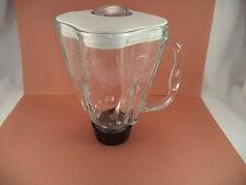 Oster Blender Jug/Jar with Blade - Missing rubber gasket - No base, jar ONLY