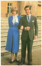 ❤ alte POSTKARTE_Verlobung 1981_Prinzessin_Princess_Lady_DIANA_Spencer_CHARLES_