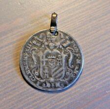 Clemente XIII Roma Giulio 1767 con appiccagnolo qBB-argento