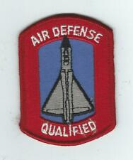 """1960s-70s F-106  AIR DEFENSE """"QUALIFIED"""" patch"""